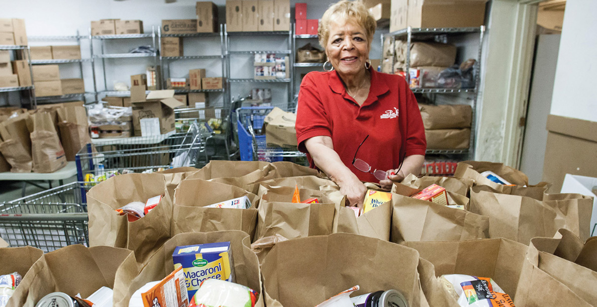Hundreds of families will receive special holiday dinners through the Maple Morgan Park Food Pantry