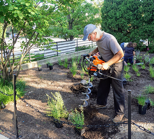 Roy Diblik Garden Of Living Art To Be Dedicated At Bac Beverly